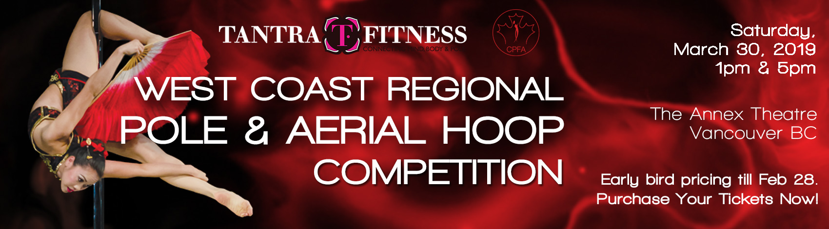 West Coast Regional Pole & Aerial Hoop Competition