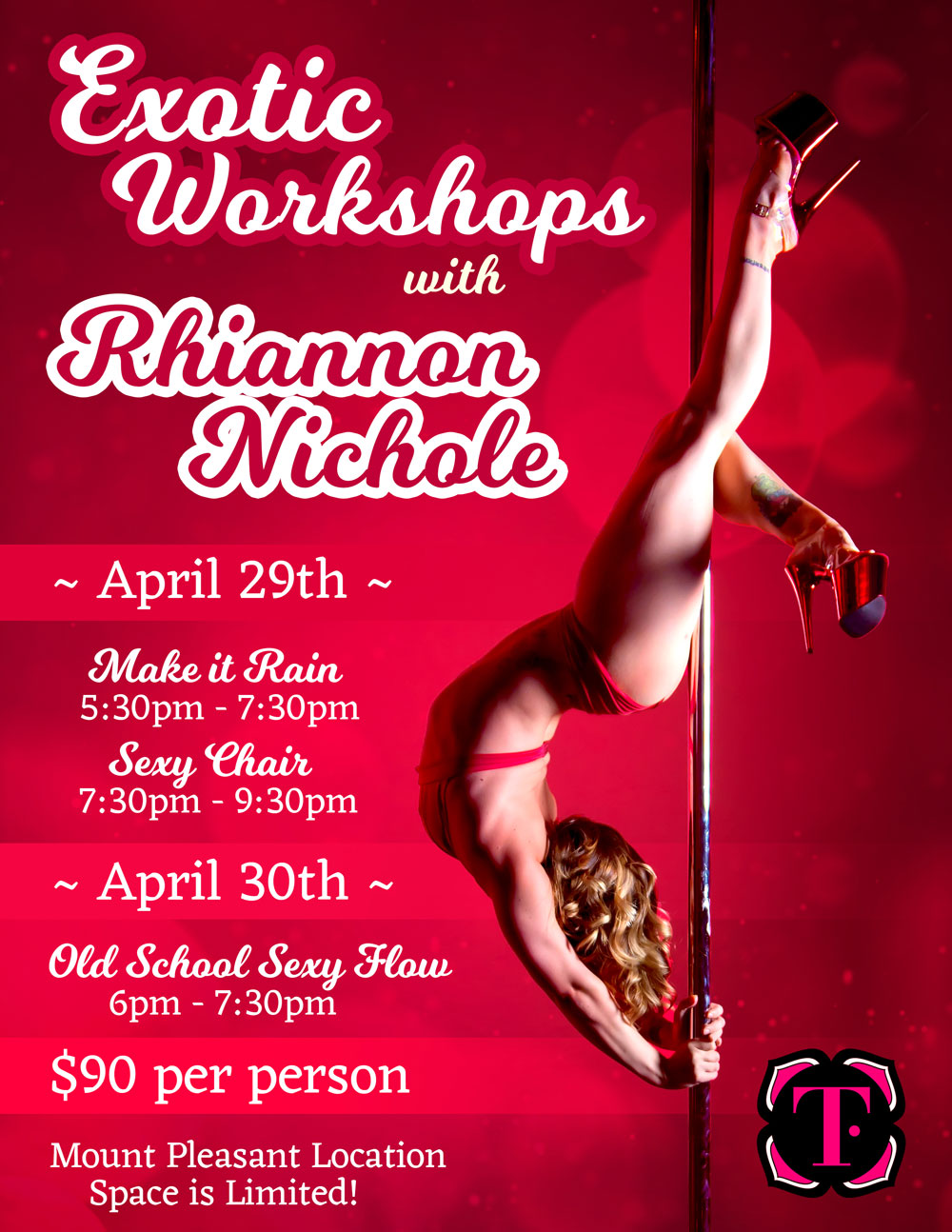 Exotic Workshops with Rhiannan Nichole