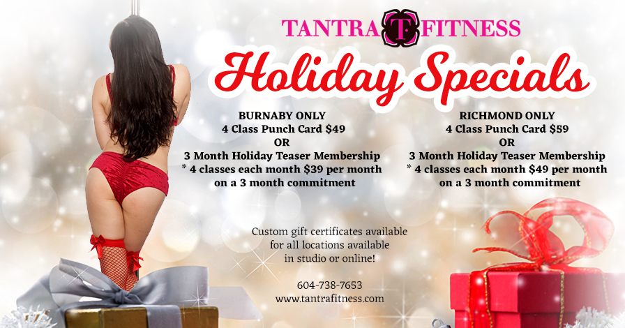 Tantra Fitness Holiday Specials