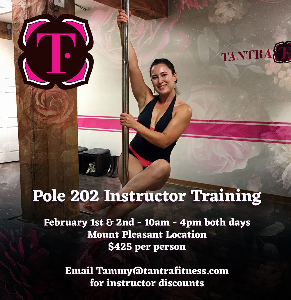 Pole 202 Instructor Training - Feb 1 and 2, 2020