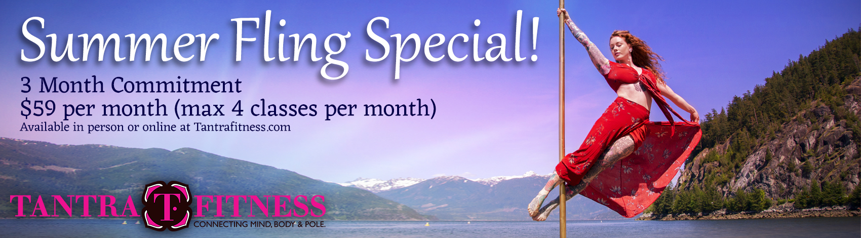 Tantra Fitness Summer Special - $59/month - 4 Classes