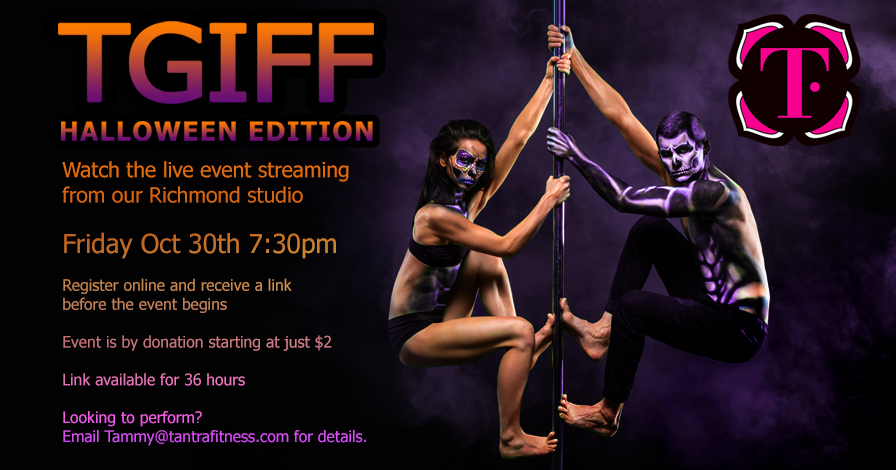 Tantra Fitness TGIFF - Halloween Edition Live Streaming