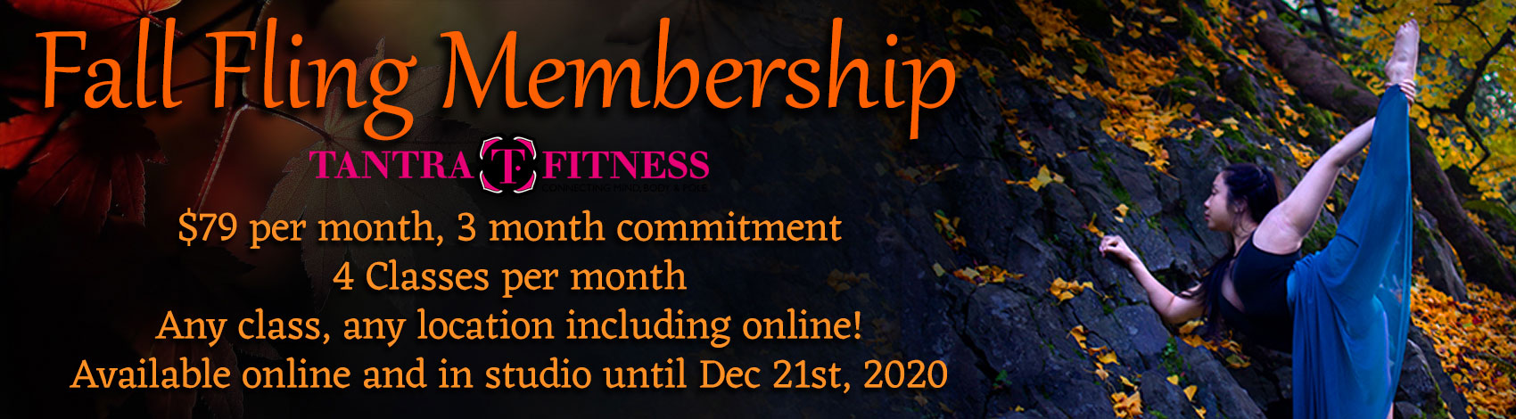 Fall Fling Membership - $79/month